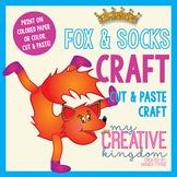 Fox and Socks Craft
