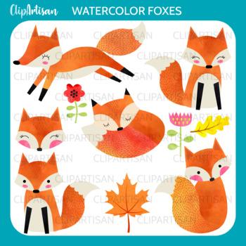 Cute Fox clipart