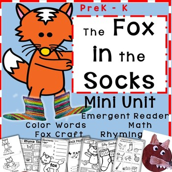 image relating to Fox in Socks Printable Template referred to as Fox Inside Socks Worksheets Education Supplies Instructors Fork out