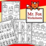 Fox in Socks Worksheets (Read Across America Week)
