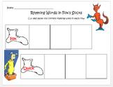 Fox in Socks - Rhyming Words Practice