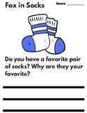 Fox in Socks - Writing Prompts