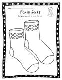 Fox in Socks activity