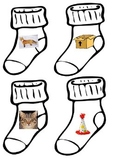 Socks Fox rhyming inspired GOOD DOCTOR matching ESL hands on center