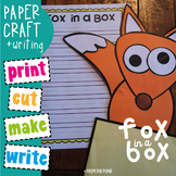 Fox in a Box - Paper Craft - Great for Word Families