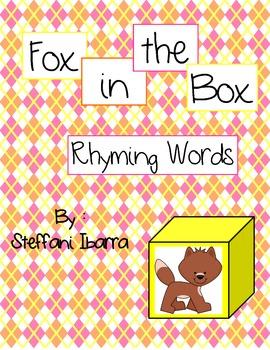 Fox in the Box Rhyming Words
