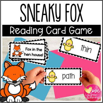 Digraph Word Game {Fox in the Hen House!}