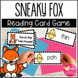 Fox in the Hen House! A reading fluency card game with sh,