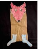 Fox in the socks Dr Seuss Read across america puppet Craft