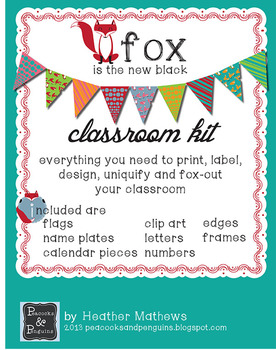 Classroom Design Kit - Fox are the New Owl