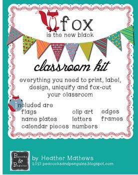 Classroom Design Kit - Fox are the New Owl