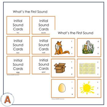 Kindergarten Literacy Center Activities - Fox on a Box