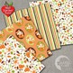 Foxes Digital Papers, Forest Animal Digital backgrounds, AMB-1375