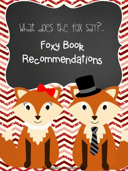 Foxy Book Recommendation