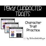 Foxy Character Traits: A Digital Interactive Activity