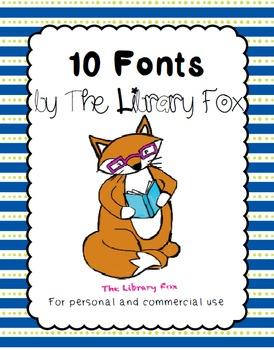 Foxy Fonts- 10 Handwritten Fonts