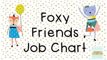 Foxy Friends Job Chart