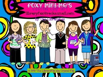 Foxy Mini-Me A Custom Caricature of YOU
