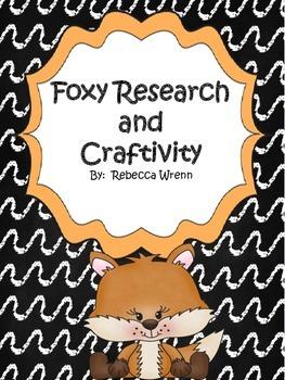 A Fox and A Kit Craftivity
