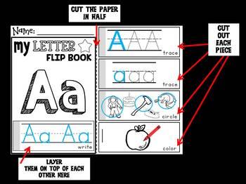 Foxy's Flipbooks : Alphabet Letters A -Z (26 Flip book), Phonics