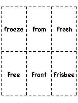 Fr Blend Bingo [10 playing cards]