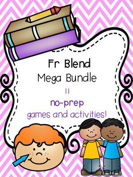 Fr Blend Mega Bundle! [11 no-prep games and activities]