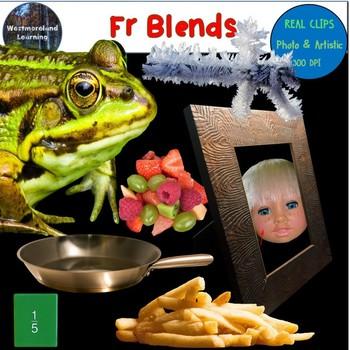 Fr Blends Clip Art Phonics Photo & Artistic Digital Stickers