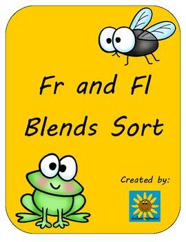 Fr and Fl Blends Sort- Frog or Fly? Freebie!!