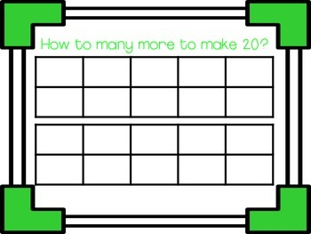 {FrEeBiE}Making 10 - An Addition & Base 10 Activity