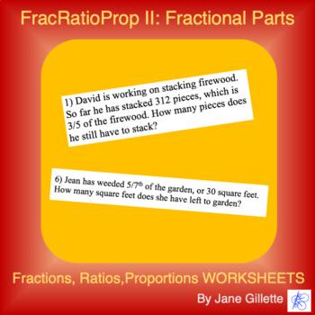 FracRatioProp II: Fractional Parts