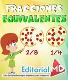 Fracciones Equivalentes para Niños