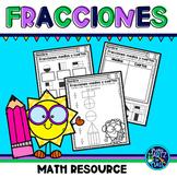 Fracciones: Medios y Cuartos (Halves and Quarters/Fourths)