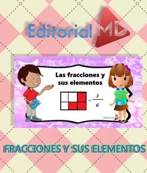 Fracciones para Niños Imprimir