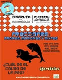 Fracciones - propias, impropias o mixtas - Spanish only