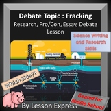 Fracking Research and Argumentative Essay