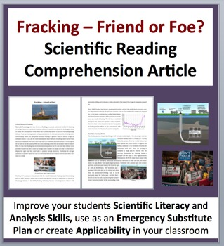 Hydraulic Fracturing - Fracking: Friend or Foe - Science R