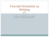 Fractal Geometry in Writing