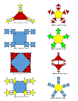 Fractal Multiplication cards