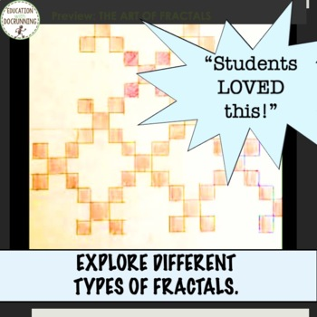Fractals: Exploring the Art of Fractals Math Activity