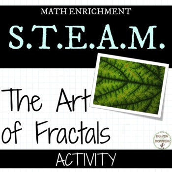 Fractals Exploring the Art of Fractals Math Activity UPDATED