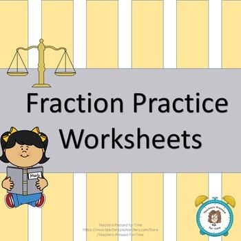 Fractice Practice Worksheets
