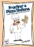 Fractino's Pizza Stations:  Fraction Centers aligned to Co
