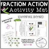 Fraction Action Activity Mat