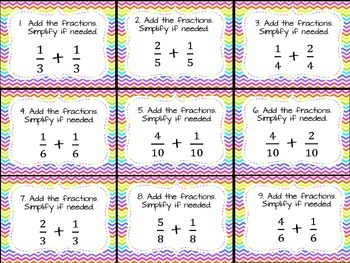 Fraction Action: Adding & Subtracting Fractions with Like Denominators