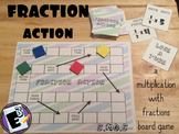 Fraction Action - Board Game for Multiplying Fractions by