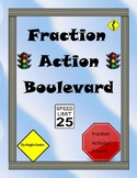 Fraction Action Boulevard: A Fraction Activity