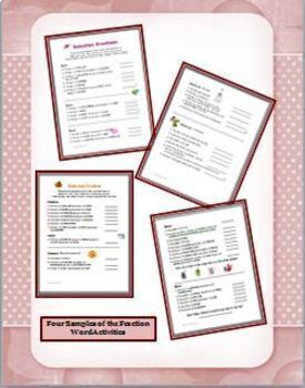 Fraction Bundle: Teaching Strategies, Tests, Projects and Practice Activities