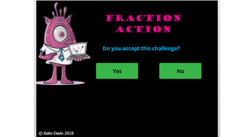 Fraction Action - Equivalent Fractions