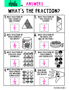 Fraction Action Pack