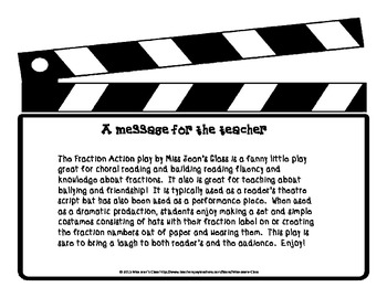 Fraction Action Play